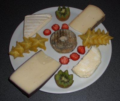 Pfingstmenü: Käseplatte