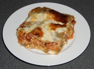 Pfingstmenü: Spinat-Ricotta-Lasagne