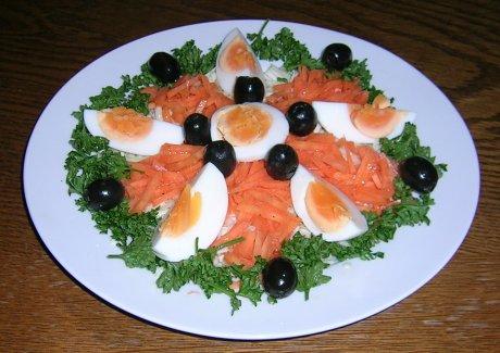 Spitzkohl-Salat mit Möhren