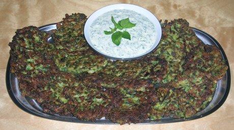 Zucchinibratlinge aus der Türkei