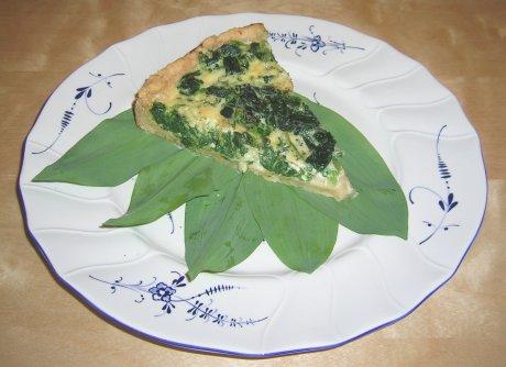 Spinat-Bärlauch-Quiche