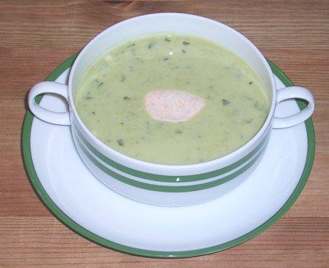Erbsen-Joghurt-Suppe