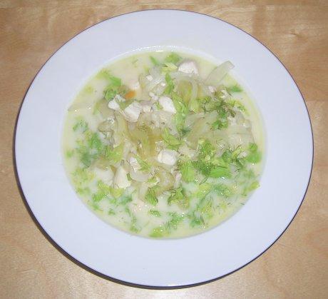 Fischsuppe aus Mazedonioen