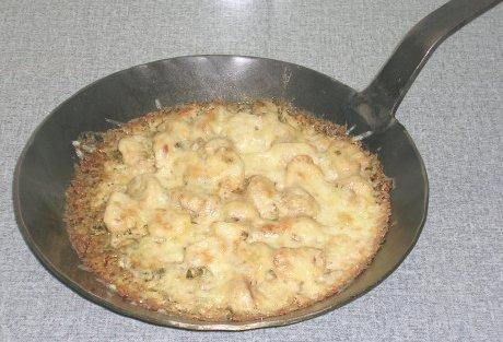 Pilze in saurer Sahne