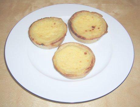 Puddingtörtchen aus Portugal