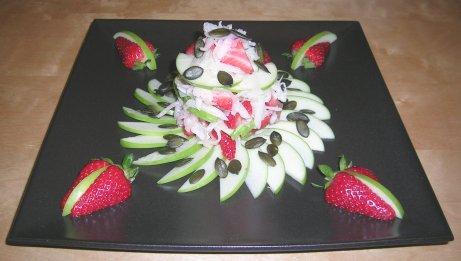 Rettich-Erdbeer-Salat