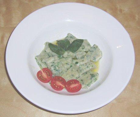 Ricotta-Spinat-Gnocchi