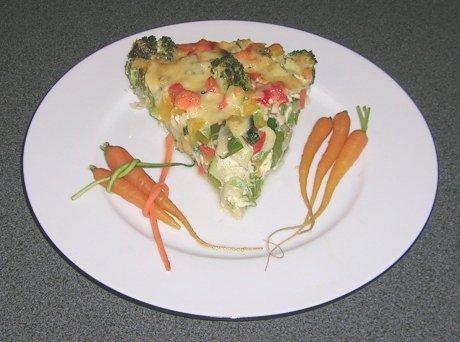 Gemüsekuchen aus der Schweiz