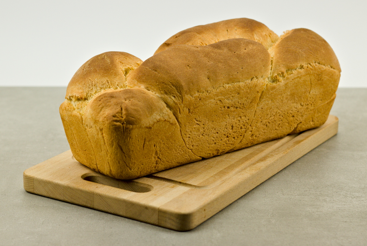 Selbstgebackenes Toastbroat