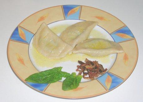 Spinat-Schafskäse-Piroggen