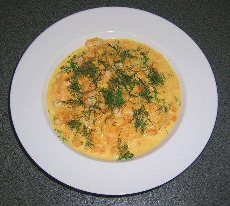 Krabben-Möhren-Suppe