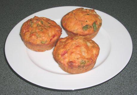 Caprese-Muffins