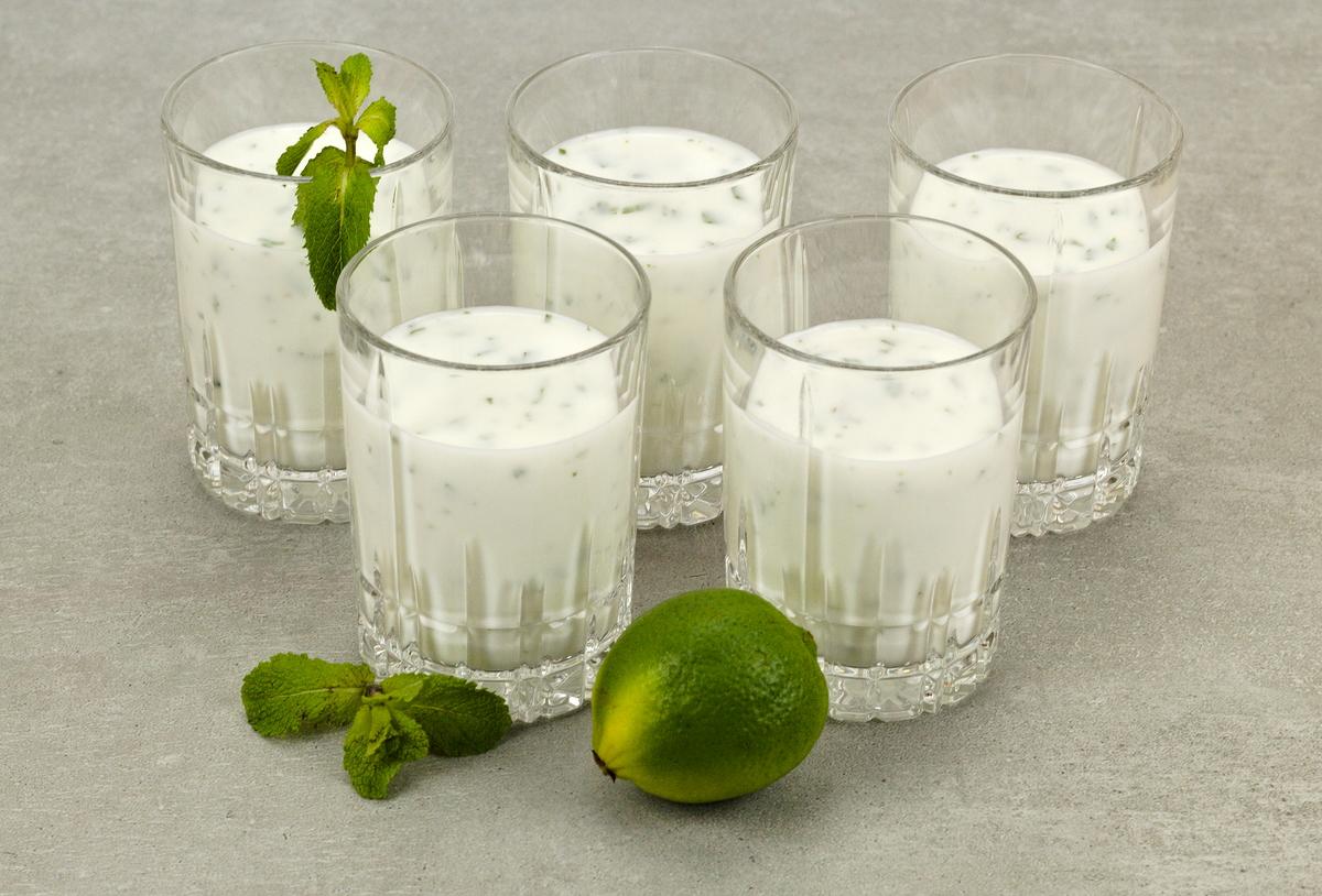 Joghurt-Minze-Getränk aus dem Iran