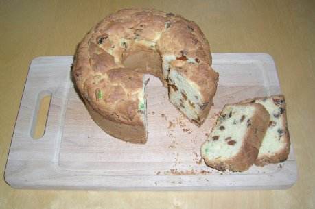Selbstgemachter Panettone