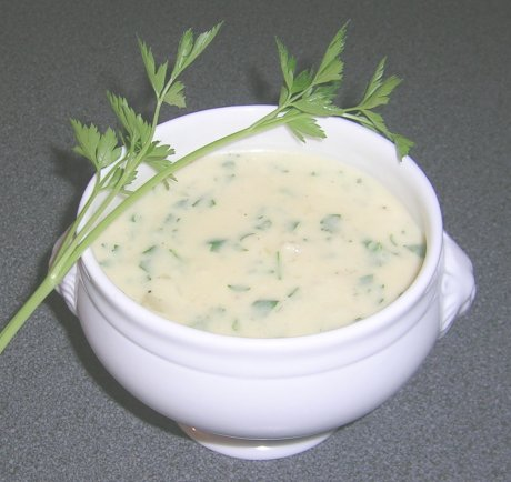 Petersiliensuppe