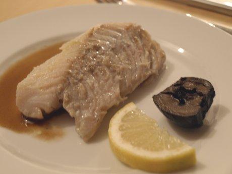 Fisch mit Reading Sauce