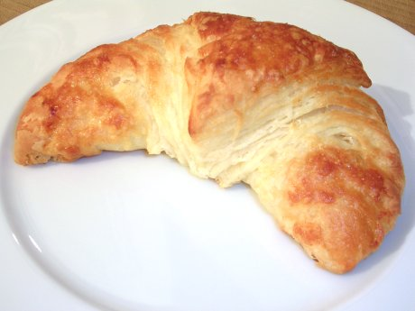Selbstgebackene Croissants