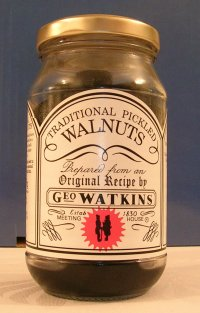 Traditional Pickled Walnuts