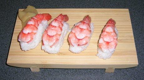 Garnelen Sushi selber machen