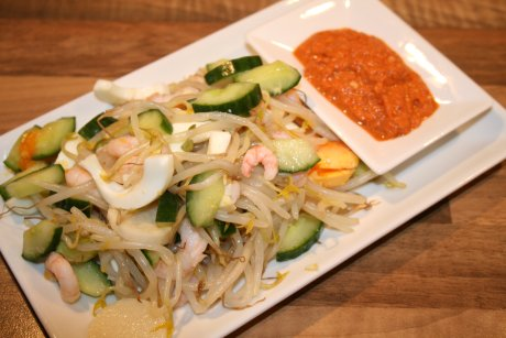 Gemischter Salat aus Malaysia