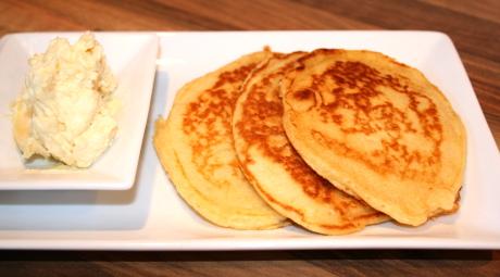 Klassische Pancakes
