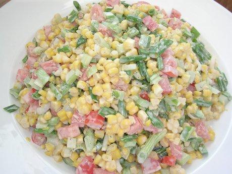 Maissalat aus den USA