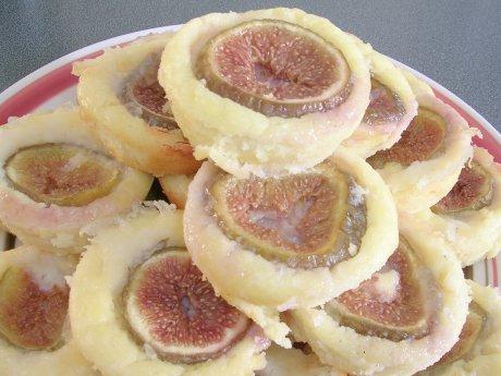 Ziegenkäse-Feigen-Muffins