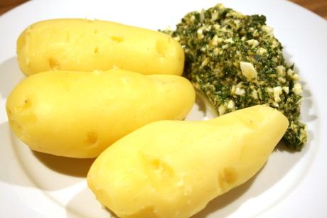 Frankfurter grüne Sauce mit Kartoffeln