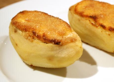 Kartoffeln mit Pilzfüllung