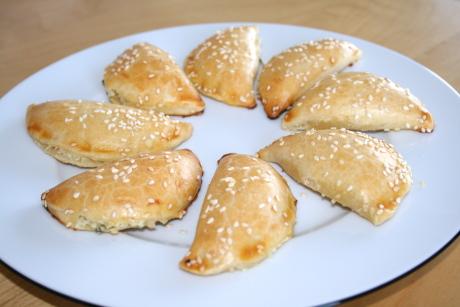 Kretische Käsepastetchen mit Mizithra-Käse