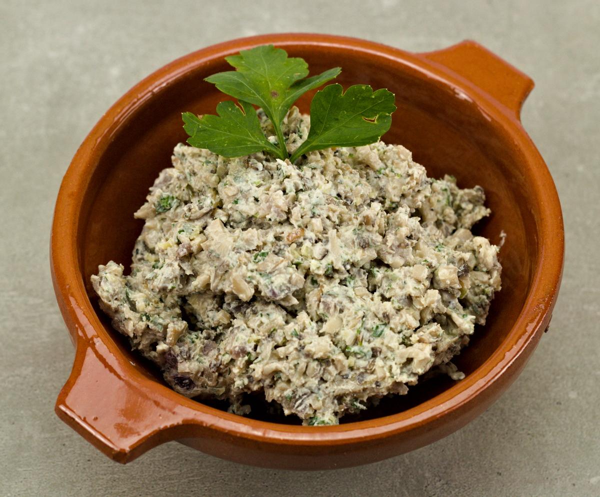 Pilzkaviar aus Russland