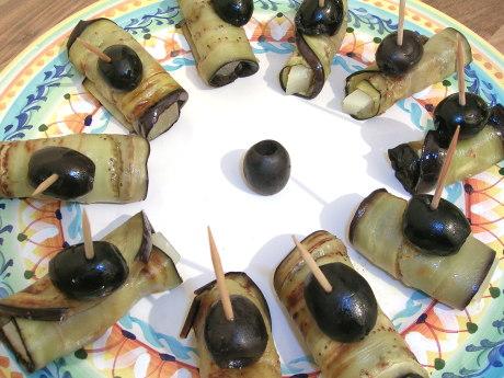 Auberginen mit Manchego