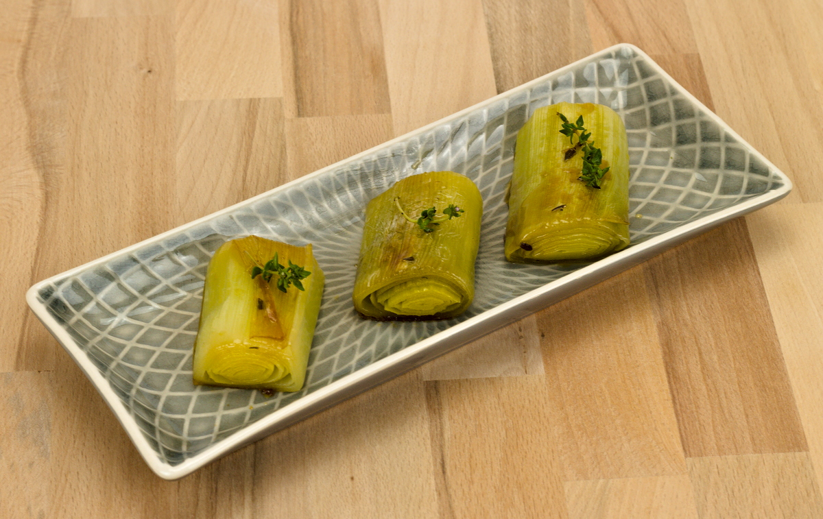 Lauch in Zitronenmarinade - Tapas-Rezept