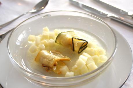 Zucchini mit Manchego