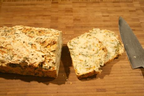 Topinambur-Kräuter-Brot