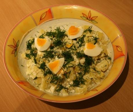 Rezept dänischer Kartoffelsalat