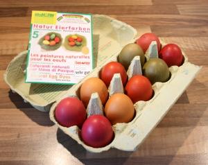 ökoNORM Natur Eierfarben Beispiel