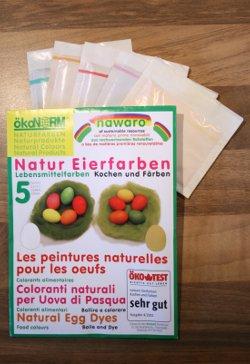 ökoNORM Natur Eierfarben