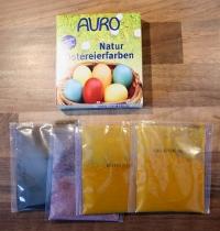 Auro Natur-Ostereierfarben