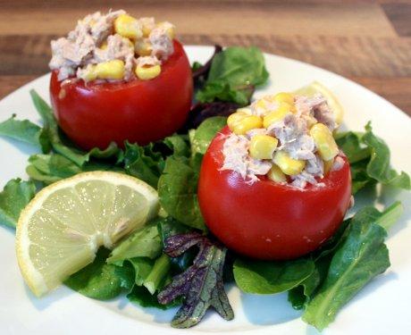 Gefüllte Tomaten nach einem Rezept aus Chile