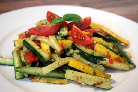 Gekochte Zucchini