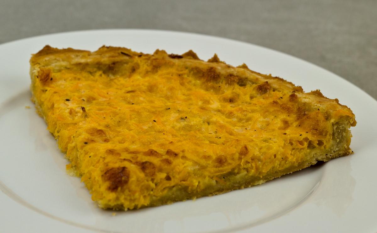Käse-Möhren-Quiche aus der Schweiz