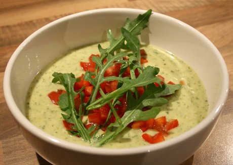 Kalte-Rucola-Suppe