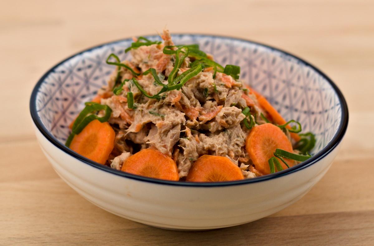 Tunfischcreme nach einem Rezept aus Portugal