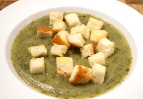 Grüne Suppe - ein Rezept aus den Niederlanden
