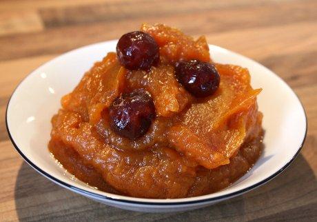 Süßes Süßkartoffelkompott aus Brasilien