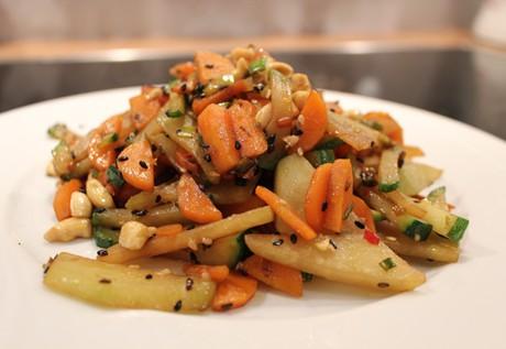 Gemüse asiatisch angehaucht