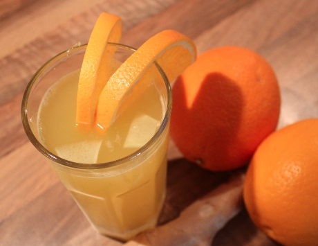 Orange-Ingwer-Getränk