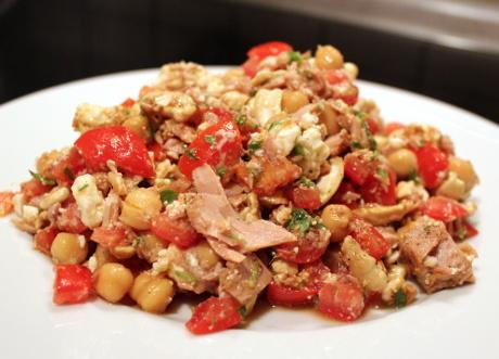 Salat aus Jans Lieblingszutaten