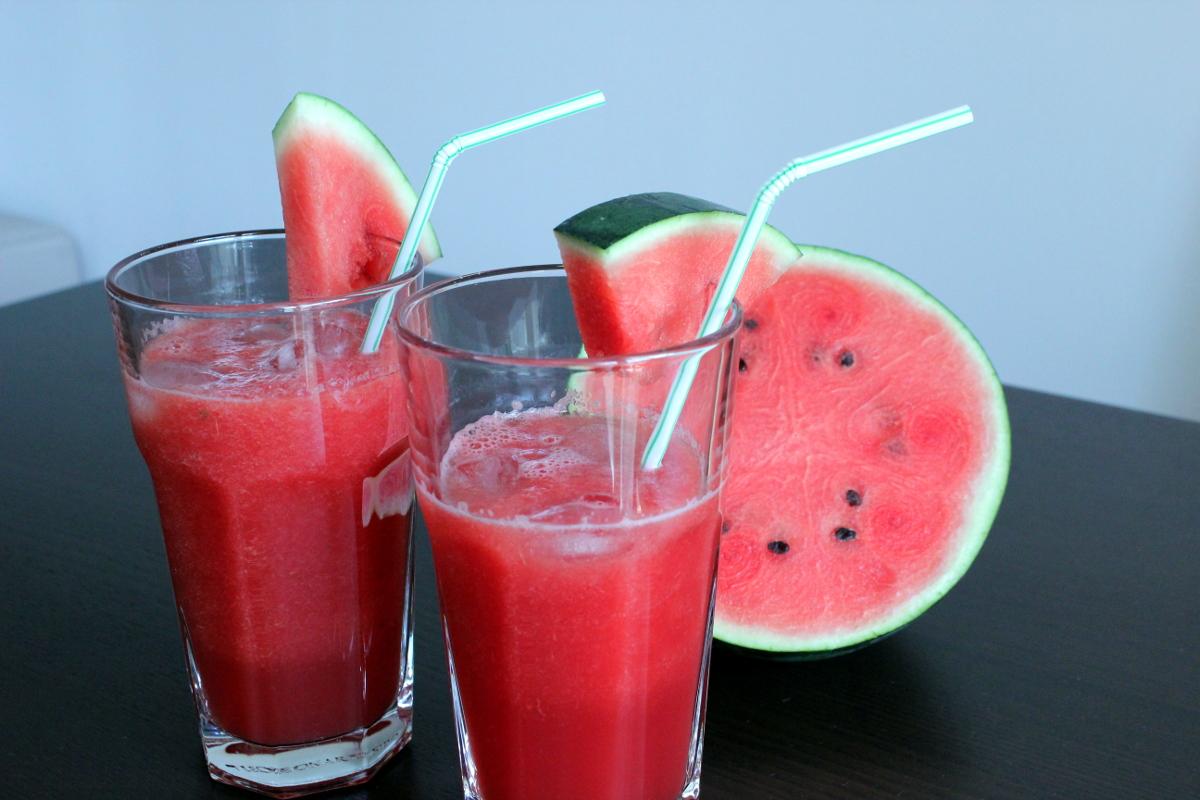 Rezept für Wassermelonen-Drink